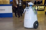 In Russia, instead of the students sit at their desks robots